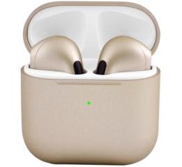 Купить Бездротові Bluetooth навушники Air Pro 4 gold