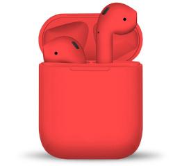 Купить Бездротові Bluetooth навушники HBQ i12 TWS red