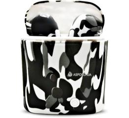 Купить Беспроводные Bluetooth наушники HBQ i7S TWS camouflage white-black