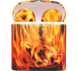 Купить Бездротові Bluetooth навушники HBQ i7S TWS flame