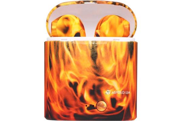 Беспроводные Bluetooth наушники HBQ i7S TWS flame