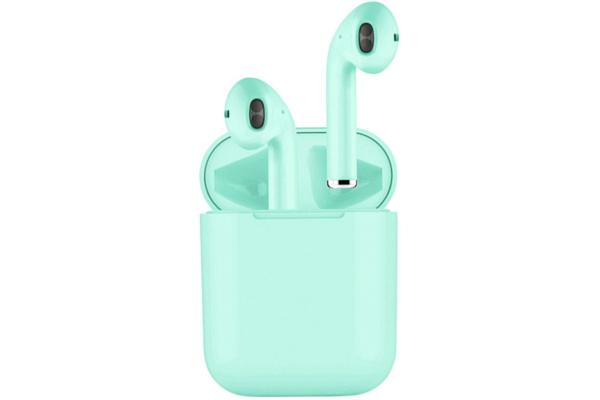 Беспроводные наушники i13s TWS turquoise