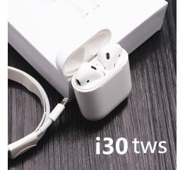 Купить Бездротові Bluetooth навушники i30 TWS white в Украине