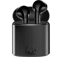 Беспроводные Bluetooth наушники i7 mini TWS black