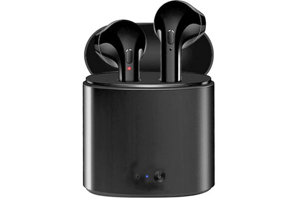 Беспроводные Bluetooth наушники i7 TWS black