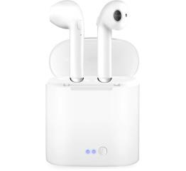 Беспроводные Bluetooth наушники i7 mini TWS white