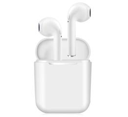 Беспроводные Bluetooth наушники iFans i8x TWS white
