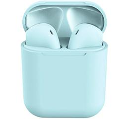 Купить Бездротові навушники Inpods 12 TWS light blue