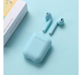 Купить Бездротові навушники Inpods 12 TWS light blue в Украине