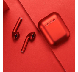 Купить Бездротові навушники Inpods 12 TWS red в Украине