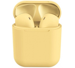 Купить Бездротові навушники Inpods 12 TWS yellow