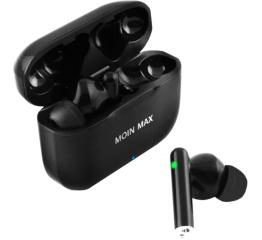 Купить Бездротові Bluetooth навушники P91 Pro TWS Moin Max black в Украине