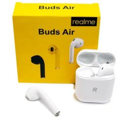 Купить Бездротові Bluetooth навушники realme Buds Air white в Украине