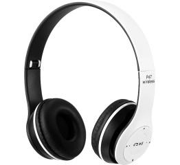 Купить Бездротові Bluetooth навушники Wireless P47 White