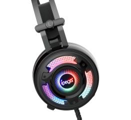 Купить Ігрові навушники iPega PG-R008 Black RGB