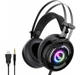 Купить Ігрові навушники iPega PG-R008 Black RGB в Украине