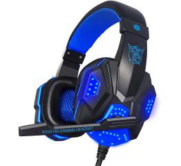 Купить Игровые наушники Plextone PC780 Blue