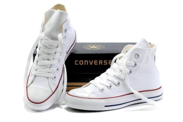 Женские кеды Converse Chuck Taylor All Star High белые