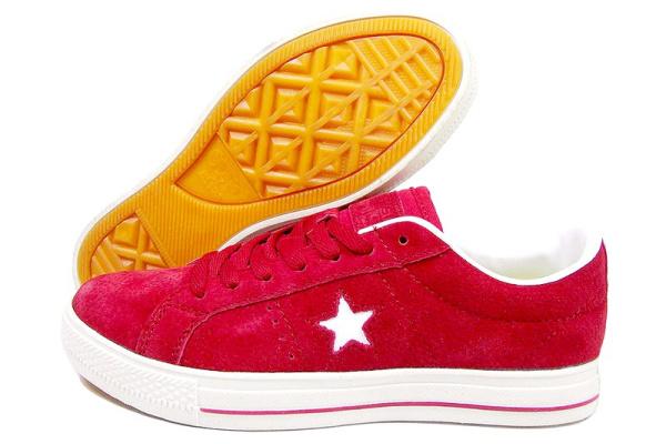 Женские кеды Converse Cons One Star Pro красные