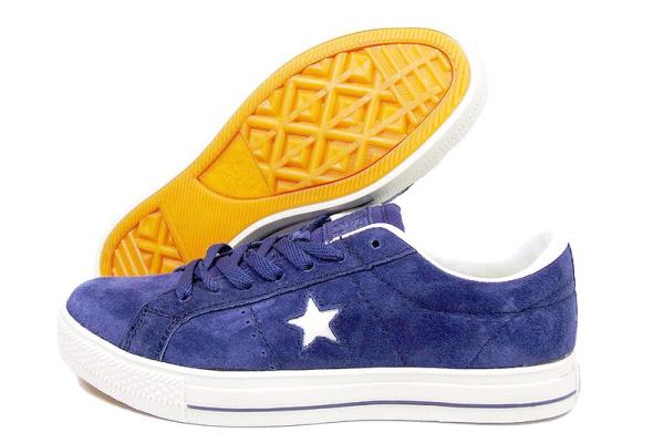 Женские кеды Converse Cons One Star Pro темно-синие