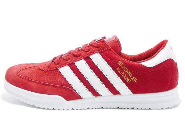 Мужские кроссовки Adidas Beckenbauer Allround красные