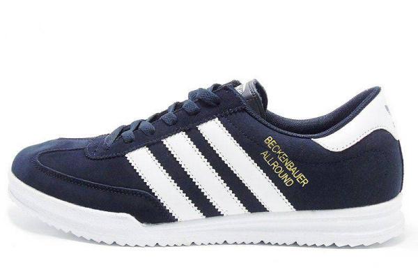 Мужские кроссовки Adidas Beckenbauer Allround синие