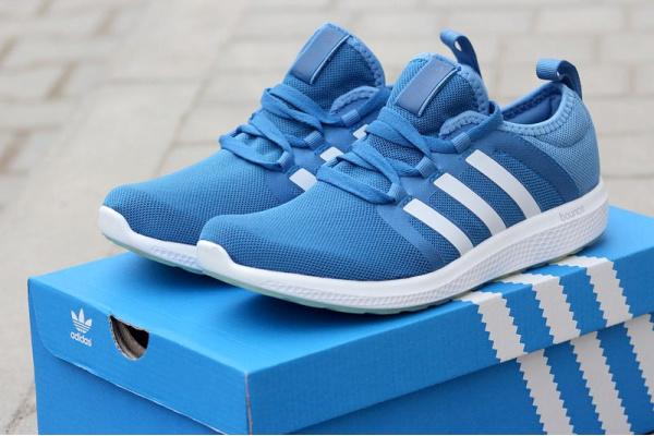 Мужские кроссовки Adidas Bounce голубые
