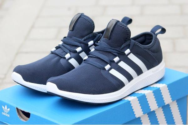 Мужские кроссовки Adidas Bounce темно-синие
