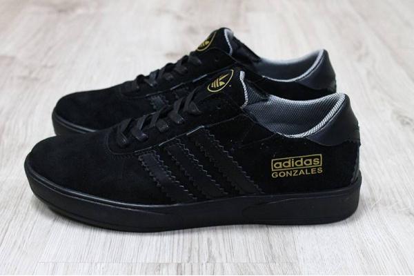 Мужские кроссовки Adidas Gonzales черные