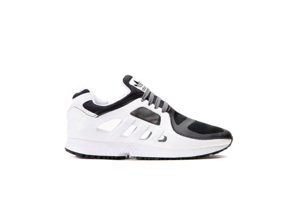 Мужские кроссовки Adidas Originals EQT Racer 2.0 белые с серым