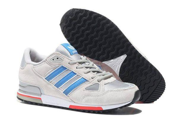 Мужские кроссовки Adidas Оriginals ZX750 светло-серые
