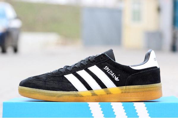 Мужские кроссовки Adidas Spezial черные