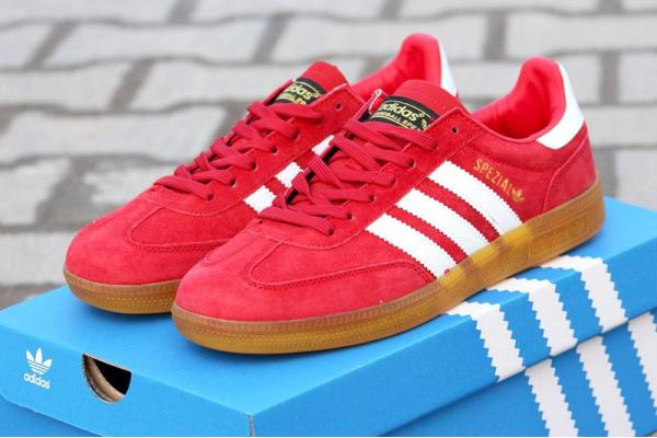 Мужские кроссовки Adidas Spezial красные
