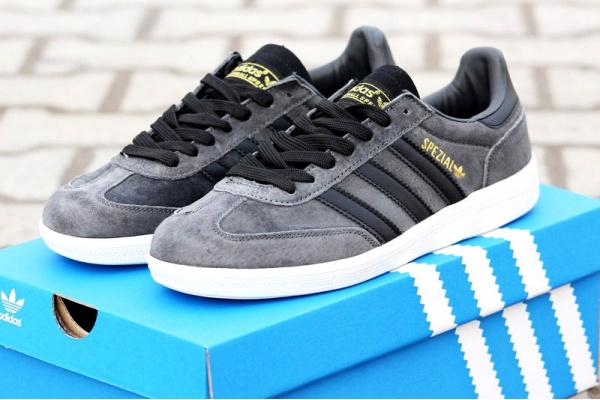 Мужские кроссовки Adidas Spezial серые