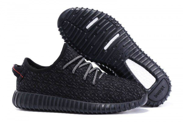 Мужские кроссовки Adidas Yeezy Boost 350 Black Panter Low