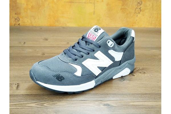 Женские кроссовки New Balance 580 серые
