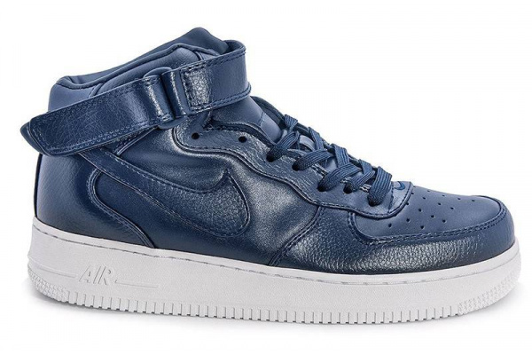 Мужские кроссовки Nike Air Force 1 High темно-синие