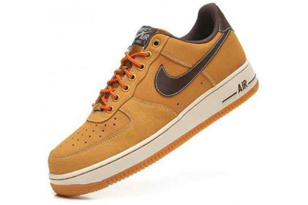 Мужские кроссовки Nike Air Force 1 Low бежевые