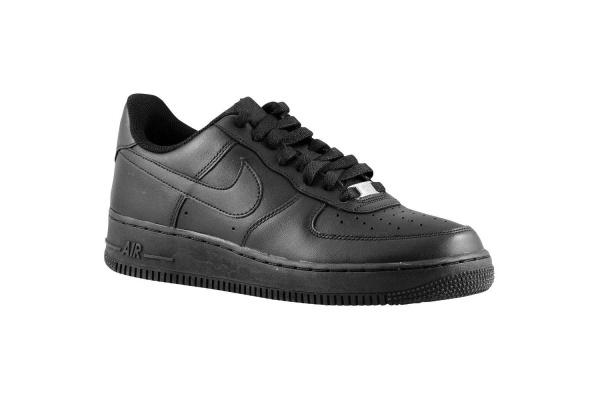 Мужские кроссовки Nike Air Force 1 Low черные