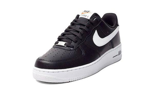 Мужские кроссовки Nike Air Force 1 Low черные с белым