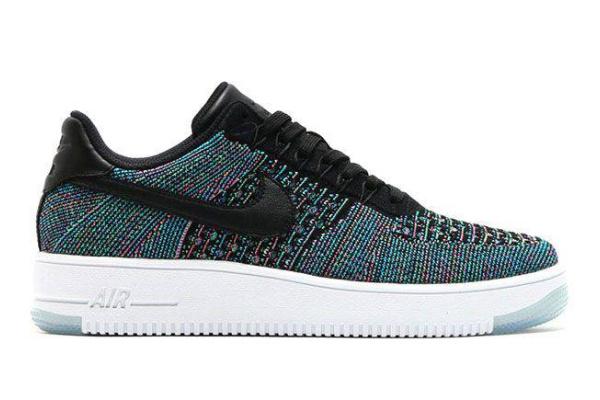 Мужские кроссовки Nike Air Force 1 Low Flyknit Multicolor