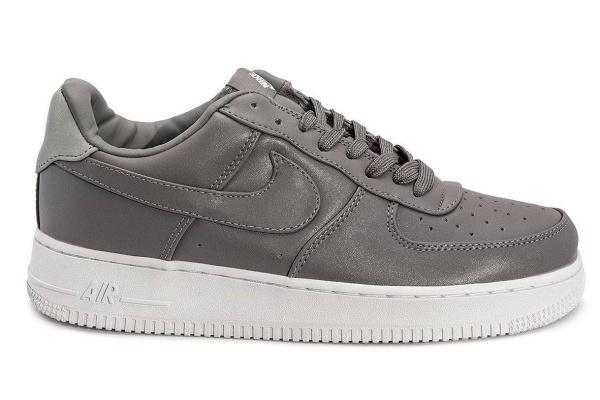 Мужские кроссовки Nike Air Force 1 Low серые