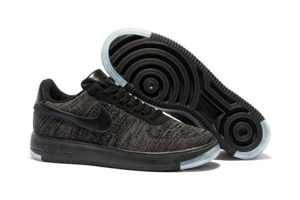 Мужские кроссовки Nike Air Force 1 Ultra Flyknit Low черные
