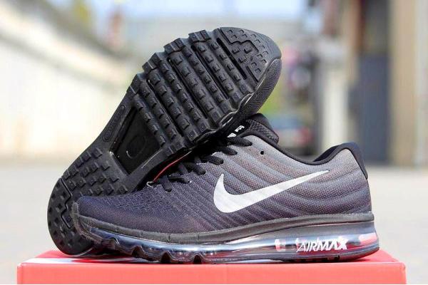 38ecb86a Nike (Найк) кроссовки Air Max 2017 черные с серым купить | ASPOLO