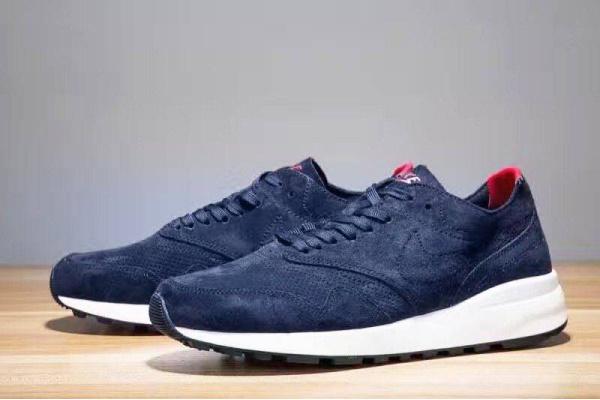 Мужские кроссовки Nike Air Max 87 Suede темно-синие