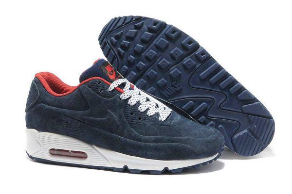 Мужские кроссовки Nike Air Max 90 VT Tweed темно-синие