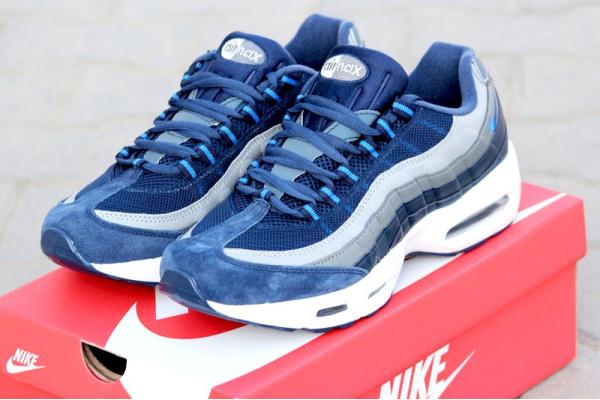 Мужские кроссовки Nike Air Max 95 темно-синие