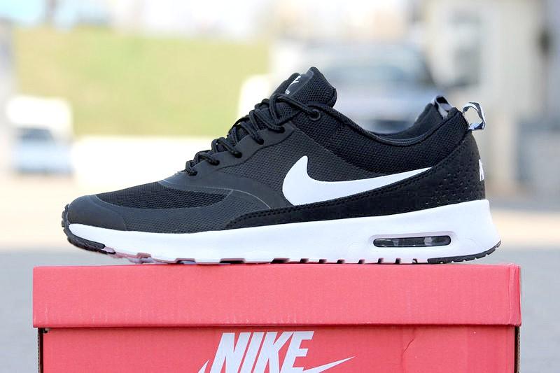 913c8f4f Nike (Найк) кроссовки Air Max Thea черные с белым купить | ASPOLO