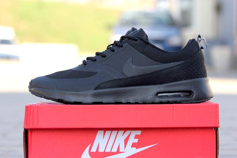 fc1b1877 Nike (Найк) кроссовки Air Max Thea черные купить | ASPOLO