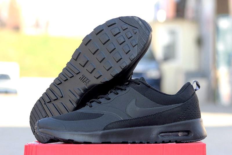 88f49ddc Nike (Найк) кроссовки Air Max Thea черные купить | ASPOLO
